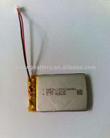 523450 3.7v 950mah rechargeable lipo battery