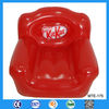 Advertising PVC plastic inflatable red sofa chair