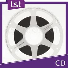 Custom Shaped DVD Duplication Made in Taiwan