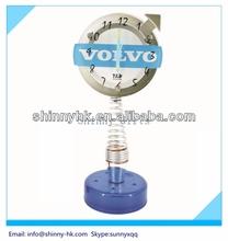 Best Promo Gifts free desktop digital clock for Volvo car brand