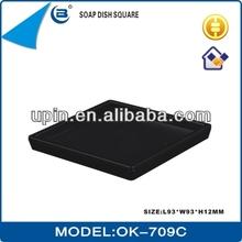 ABS plastic soap dish,square shape