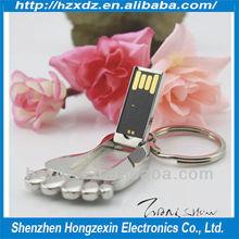 Metal feet usb pen drive/U disk manufacturers wholesale/Waterproof Usb flash drive