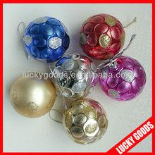 printable 8cm customized christmas ball ornament