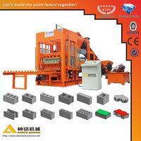 Hot sale!PLC controller, high efficiency.Shenta QTY10-15 automatic concrete hollow brick mesin