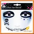 Halloween etiqueta / art pintura facial