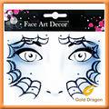 Halloween sangue etiqueta / art pintura facial