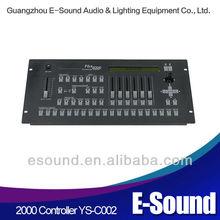 Most Popular Pilot 2000 USB DMX RGB LED light controllor