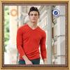 custom mens long sleeve slim fit 100% cotton t-shirt