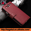 wallet leather case for samsung ,for samsung s5 leather case