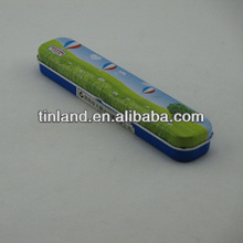 retangular tin can pencil case ISO9001:2008