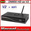 2014 Latest Model DM800SE V2 Wifi PVR HD TV Sat Receiver Dm800hd se V2 Sunray Rev E Wifi Dm800 se v2 in Stock