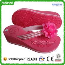 2014 new design abaya eva high heel slippers for women