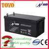 12V200AH AGM high temperature battery for solar and outdoor telecom