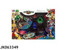 Increíble de plástico trompo de juguete, Top spin juguetes JK063349