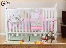 Exquisite solid wooden frame kids bed