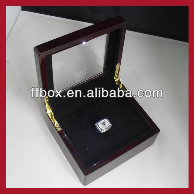 Championship Ring Designer Championship Ring Box With