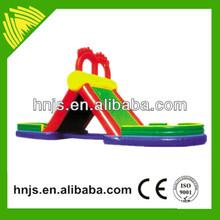 Zhengzhou Jinshan band top sale amusement rides castle inflatable water slide
