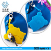 custom design animal pattern rubber silicon key cover