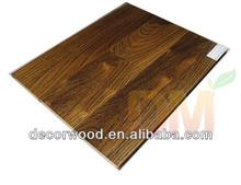High quality Wire Brushed locust teak floors hardwood