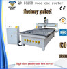 Cast Lathe Bed CNC Router Machine/ 3d Wood Carving CNC Router with DSP QD-1325B