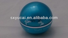 High quality stylish ball shape plastic container