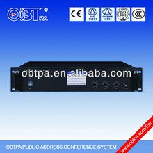 Public address PA professional audio power amplifier mixer