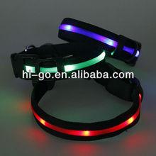 Unique product ideas led flash light dog/cat collar