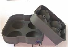 cute shapes FDA/LFGB/SGS standard diamond silicone ice cube tray