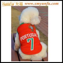 Custom digital printing LOGO Chinese Red Dog Clothing