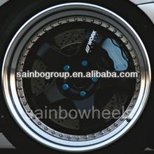 Matt Black 18x8/9 Work Replica Aluminum Wheel Rim With Deep Lip