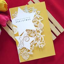 Boda fabricación de tarjetas en China y corea tarjeta de invitación y hechos a mano de diseño de los modelos de lujo de tarjeta de invitación de boda