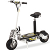 2 wheeled gas scooter with pedals