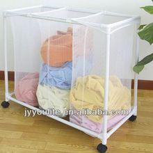 Economic folding kids pop up laundry basket