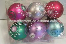 BALL ORNAMENT CHRISTMAS DECORATION