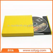 ECD002-DW New Product USB 2.0 Laptop External Optical Drive, USB Slim Portable External DVDRW DVD ROM Writer