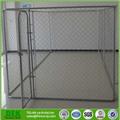 galvanizado de plástico recubierto de tubos de acero cadena de enlace valla listones lowes