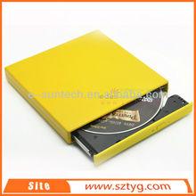 ECD002-DW China Wholesale USB 2.0 Laptop External Optical Drive, USB Slim Portable External DVDRW DVD ROM Writer