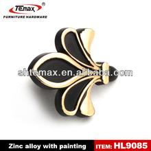 2014 new design zinc alloy singe hole cabinet door handles furniture kitchen knob