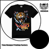 Promotional Print Animal 60% Cotton 40% Polyester T-Shirts