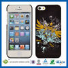 C&T Black clear plastic protective cover for iphone 5s