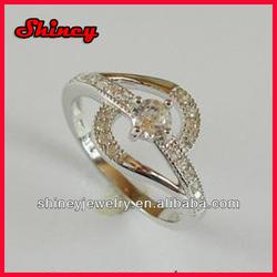 2014 shiney jewelry wholesale fashion big diamond ring for women