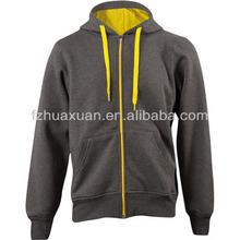 2014 leisure wear full zip custom hoodies
