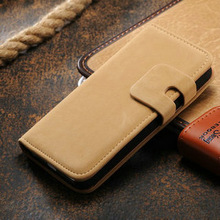 luxury pu leather case for iphone 4s, flip cover for iphone 4, credit card slot wallet leather case for iphone 4