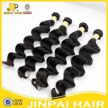 100 grams of peruvian unprocessed hair double drawn hair