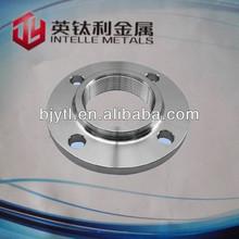 grade2 titanium flat Flange DIN2573 Slip On DN300 With High Pressure