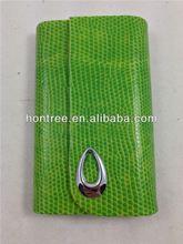 China leather fashion leather lanyard id card badge holder Multifunctional Storage