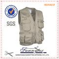 Sunnytex 100% de algodón nuevo diseño sin relleno carpinteros chaleco de herramienta para los hombres