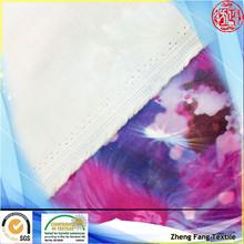 2014 new fashion semi digital printing polyester satin fabric decoration