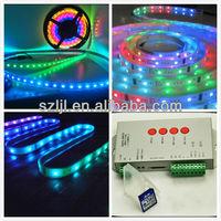 Digital LPD 8806 rgb led strip 5050 addressable rgb led strip
