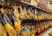 "Jamon Serrano Bodega ""de JABUGO"" - serrano ham ""cellar""- Spanish ham"